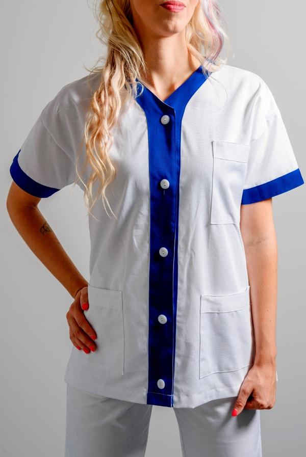 giacca da infermiera con bottoni
