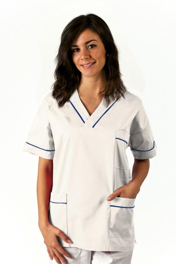 completi casacca e pantaloni da infermiere