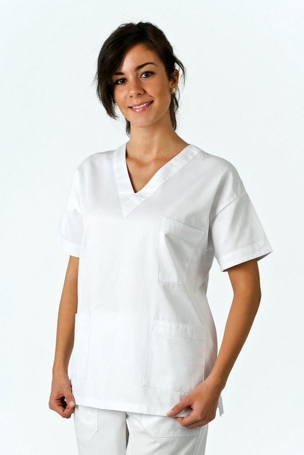 casacca unisex da infermiere