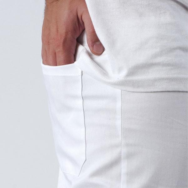 particolare della tasca posteriore