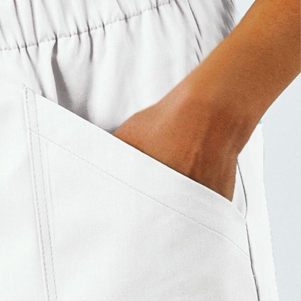 pantaloni divisa infermiere particolare delle tasche