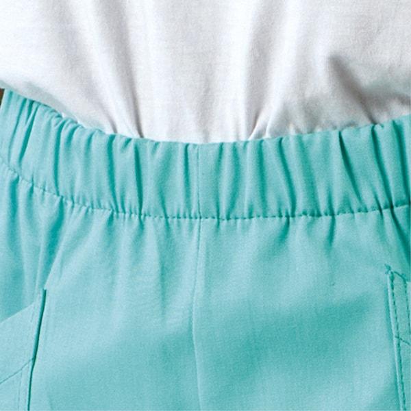 particolare dell'elastico dei pantaloni
