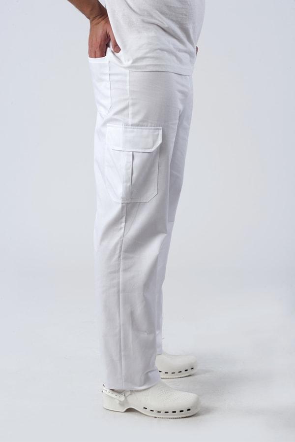 Unisex bianchi o colorati, con tasconi laterali